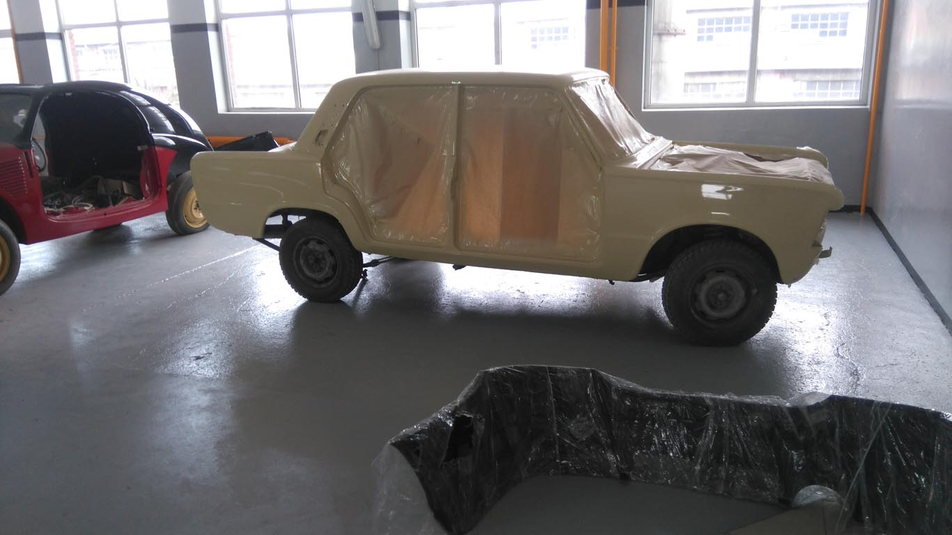 Renowacja Fiata 125p